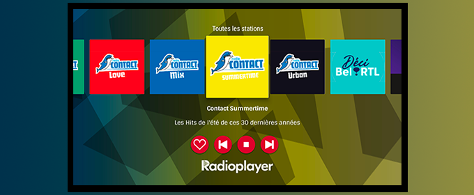 Radioplayer Android TV
